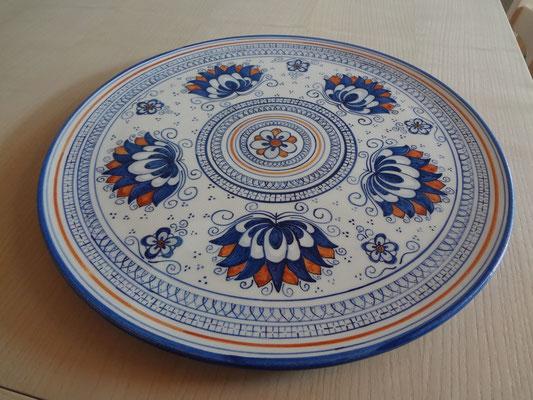 Decorazione su ceramica, tecnica tradizionale