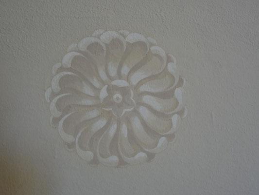 pittura su parete