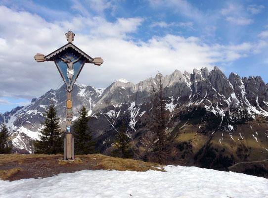 Hochkeil, Dientner Berge
