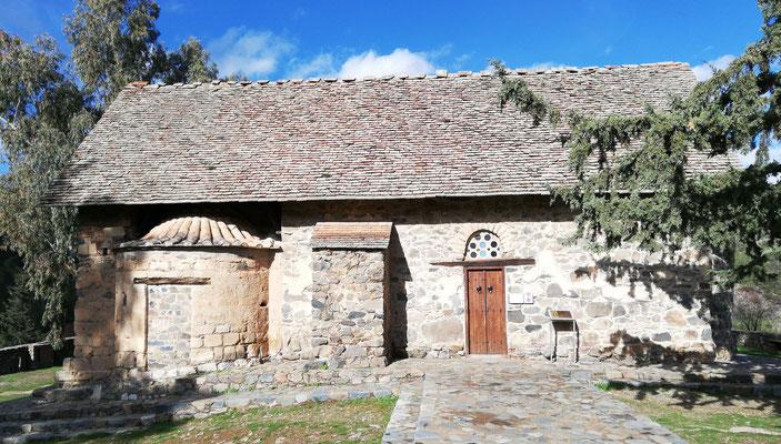 Zypern, Scheunendachkirche Panagia Tis Asinou