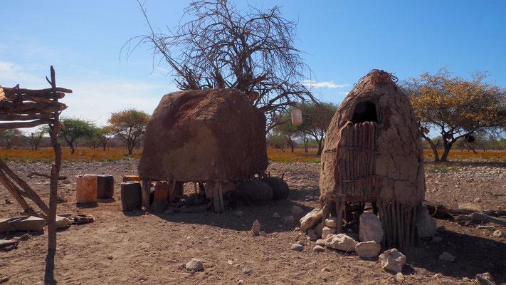 Namibia, Speicher der Himba