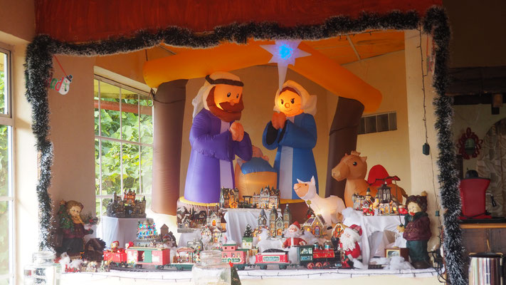 Weihnachten in Costa Rica beginnt schon im Oktober....
