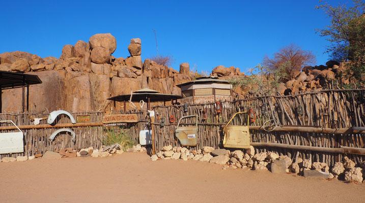 Ankunft im Madisa Camp