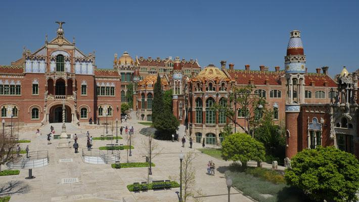 Spanien, Barcelona (Hospital de Santa Creu i de Sant Pau)