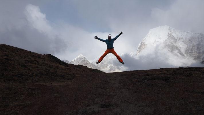 ein bisschen Bewegung schadet nie...Nepal