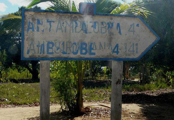 am Weg nach Ankify, Madagaskar