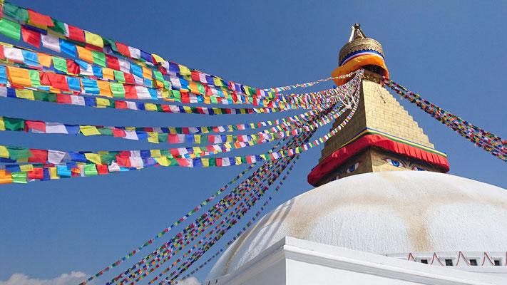 Nepal, Kathmandu (Bodnath Stupa)