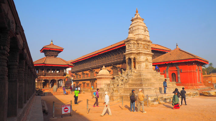Nepal, Bhaktapur (Königspalast, Durbar Square)