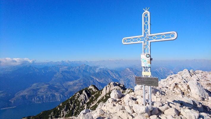 Cima Valdritta, Monte Baldo Massiv/Gardaseeberge