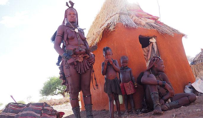 Namibia, bei den Himba