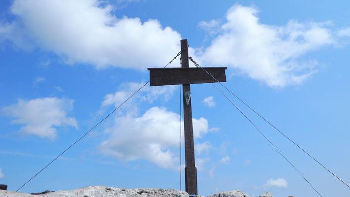 Waidringer Steinplatte, Belgierkreuz=Hauptgipfel, Chiemgauer Alpen