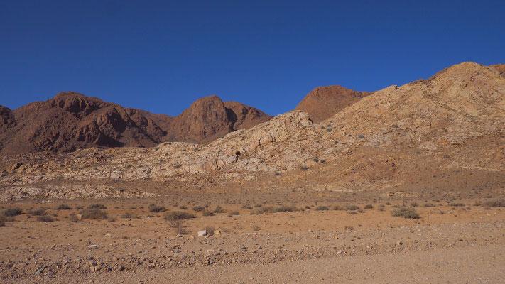unterwegs entlang der Namib