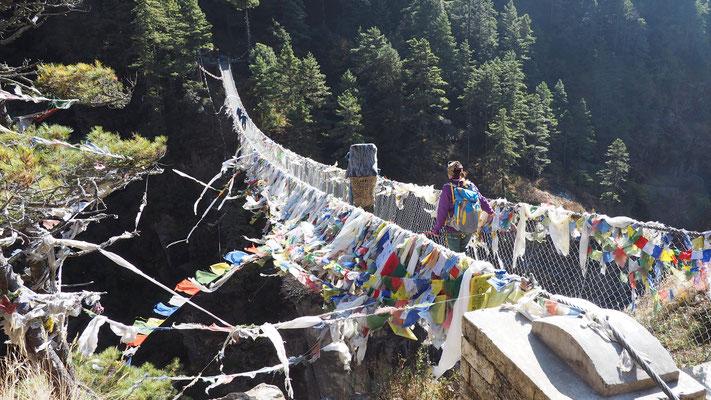 Hillary Bridge, Nepal