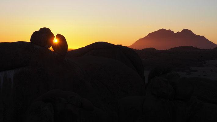 Sonnenuntergang beim Rock Arch