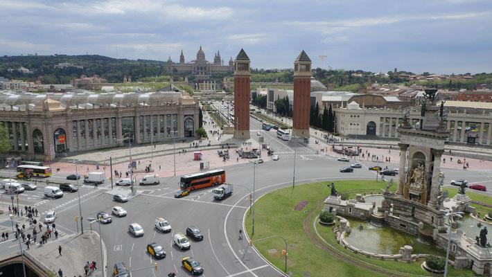 Spanien, Barcelona (Plaza de Espana)