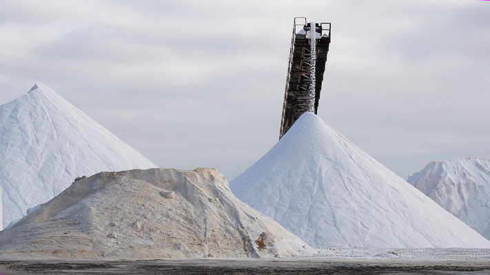 Salzgewinnung Walvis Bay, Namibia