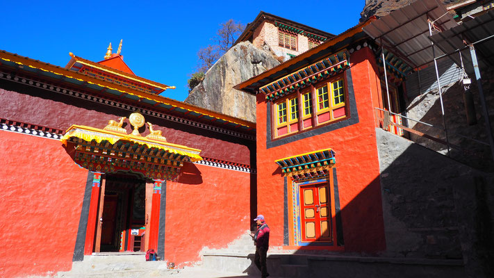 Nepal, Rolwaling (Kloster in Beding)