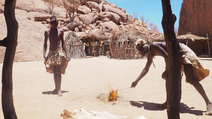 Namibia, bei den Damara