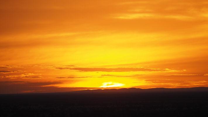 Sonnenaufgang Etosha West