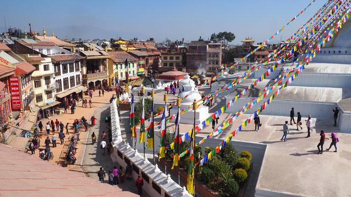 Nepal, Kathmandu (Bodnath)
