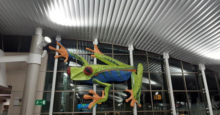 Costa Rica, am Flughafen in San Jose