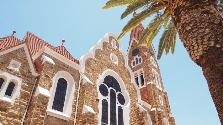 die Christuskriche, Wahrzeichen von Windhoek