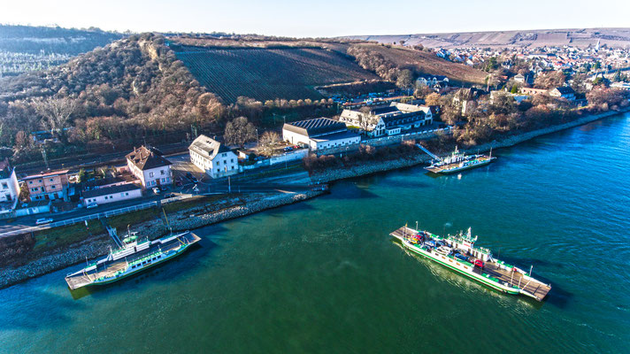 Rhine - Ferry, Oppenheim, Germany