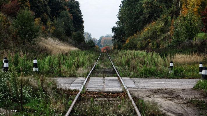 Old Railroad Tracks, Краснолесье, (Gross-Rominten), Kaliningrad Oblast, Russia