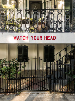 """""""watch your head"""", new orleans, louisiana"""