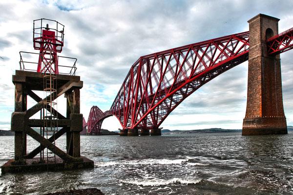 firth of forth bridge, queensferry, scotland