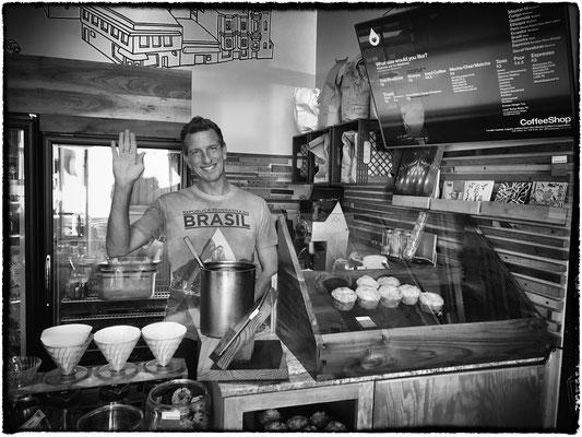 wilson, friendly coffee shop owner, mission, san francisco