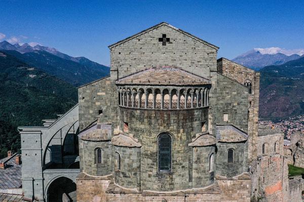 Sacra di San Michele, Aosta Valley, Italy