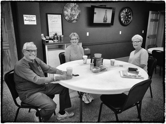 mr. tom frankel and familiy, colfax, north dakota