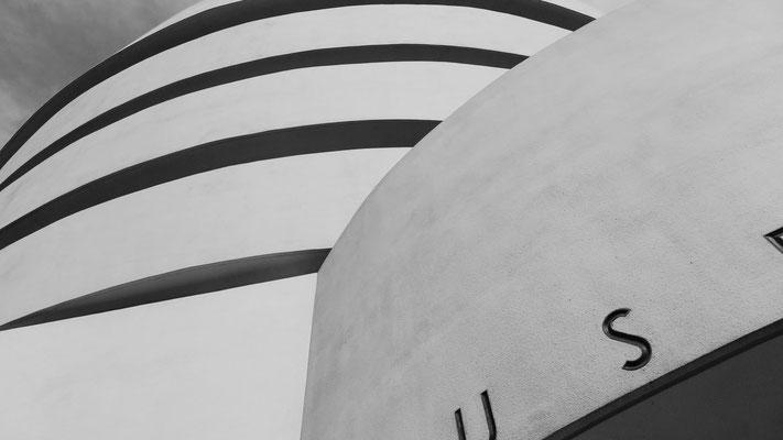 Guggenheim Museum, Detail, New York, U.S.A.
