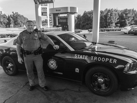 rick, friendly state trooper, lake city, florida
