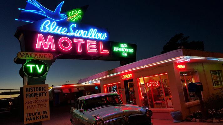 the blue swallow motel, tucumcari, new mexico