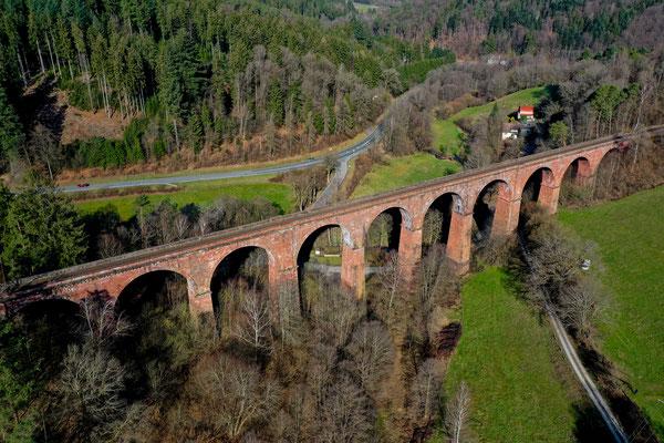 Himbächel Viadukt, Erbach, Germany