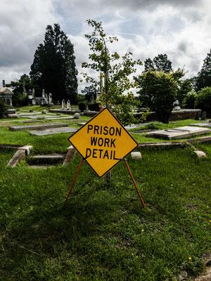 """men at work"" rose hill cemetery, macon, georgia"