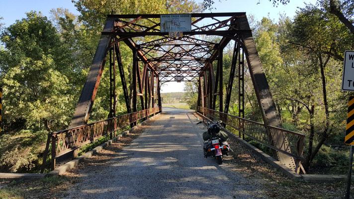 pryor creek bridge, route 66, chelsea, oklahoma