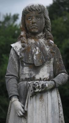 """martha ellis """"little martha"""", rose hill cemetery, macon, georgia"""