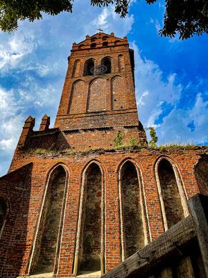 Church Ruin, Zheleznodorozhny (Gerdauen), Kaliningrad Oblast, Russia