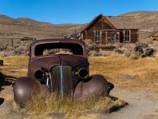 ghosttown bodie, detail, california