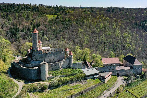 Burg Hornberg, Neckarzimmern, Germany