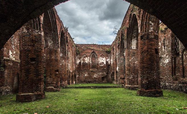 Church Ruin, Знаменск (Wehlau), Kaliningrad Oblast, Russia