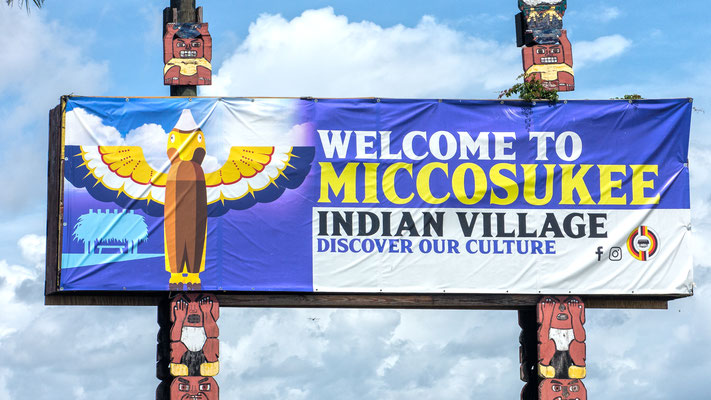 miccosukee indian reservation, everglades, florida