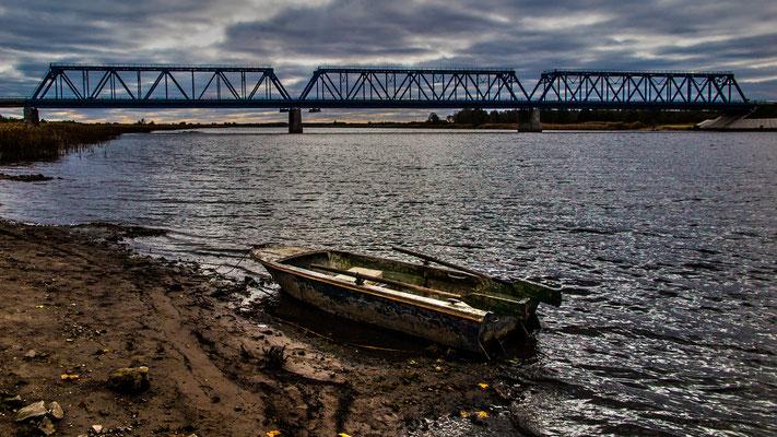 Lielupe Iron Bridge, Latvia