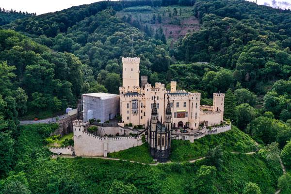 Schloss Stolzenfels, Lahnstein, Rhine River Valley, Germany