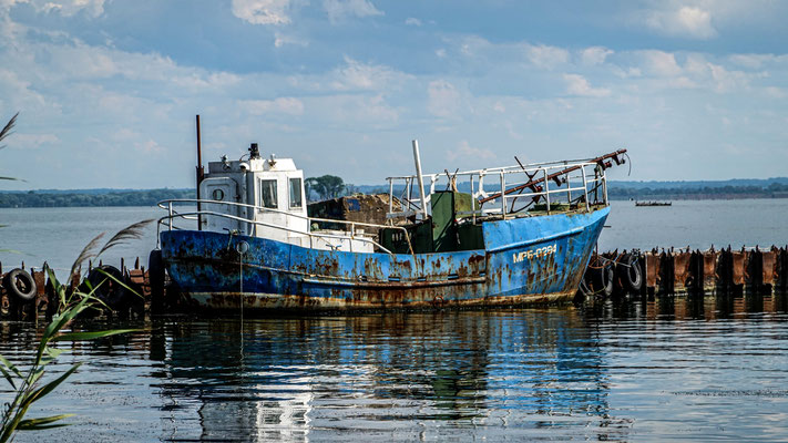 abandoned Ship, Baltijsk (Pillau),  Kaliningrad Oblast, Russia