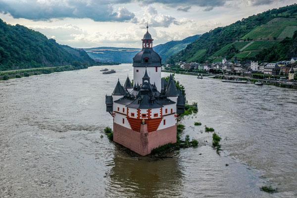 Burg Pfalzgrafenstein, Kaub, Rhine River Valley, Germany