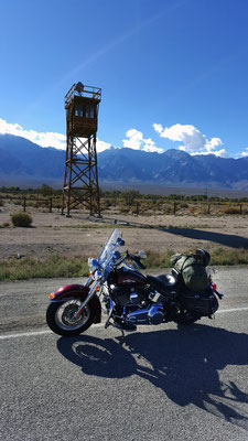 manzanar war relocation center, inyo county, california